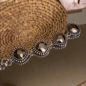 Jewelry - Gunmetal Statement Bracelet